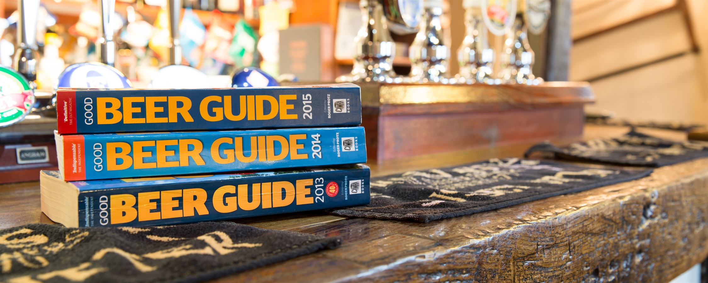 CAMRA's Good Beer Guide - We're in it!... Since 2010