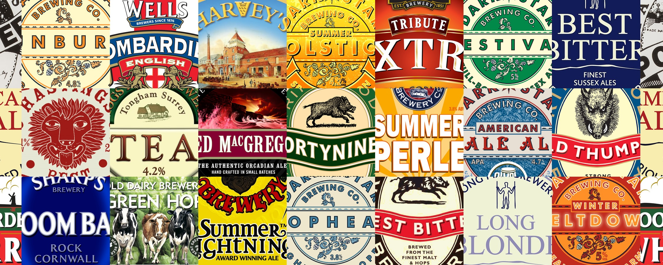 Guest Ales - We regularly have guest ales throughout the year
